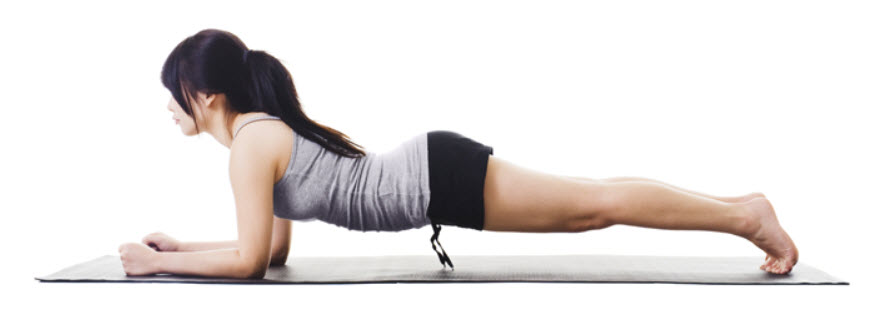 front plank - hyperlordosis